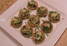 Ceasar Salad Tartlets